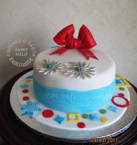 Musik tårta