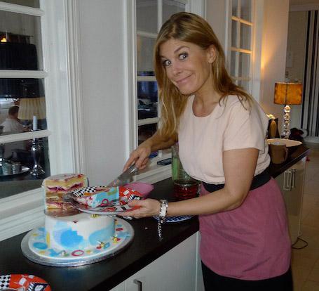 Pernilla Wahlgren, bilden kommer från hennes blogg