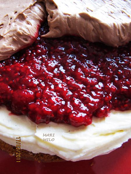 Tårta till Pernilla Wahlgren