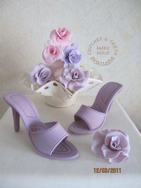 Tårta glamour med högklackad sko