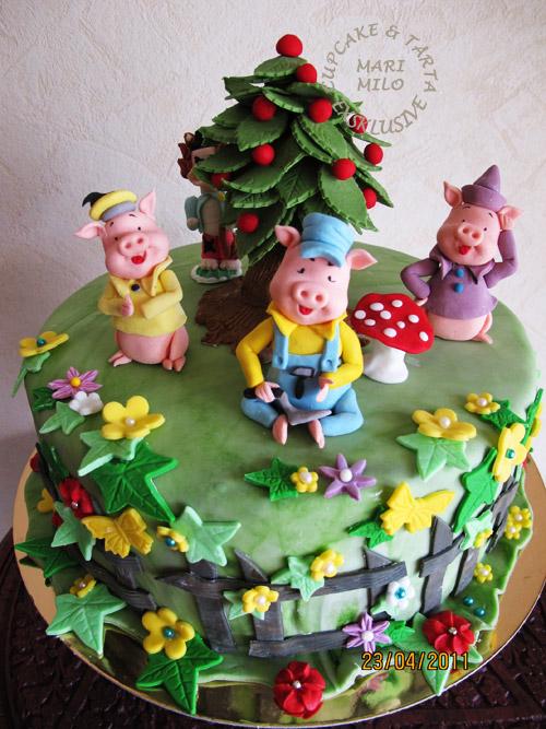 Barn födelsedagstårta