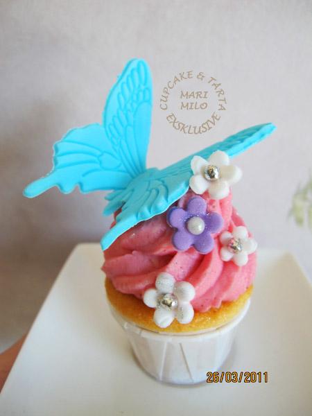cupcake fjäril