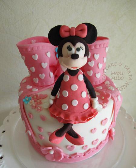 Minnie Mouse tårta