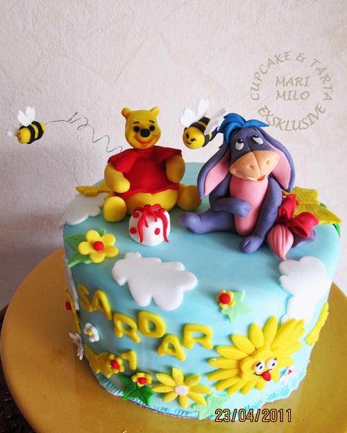 Nalle puh och Ior tårta
