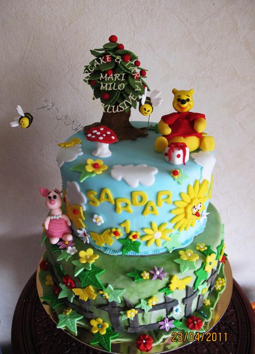 Nalle puh och Nasse tårta