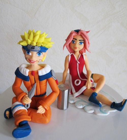 Naruto Sakura sockerfigurer