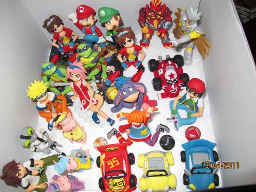 Populära sockerfigurer för pojkar
