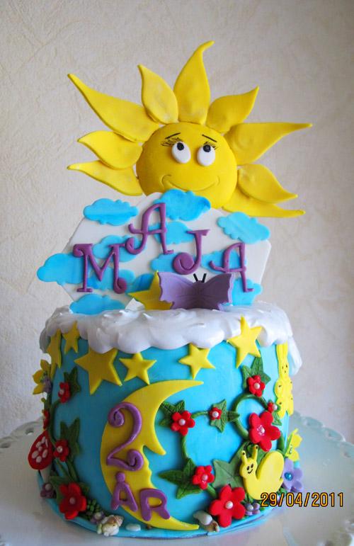 Tårta till Maja