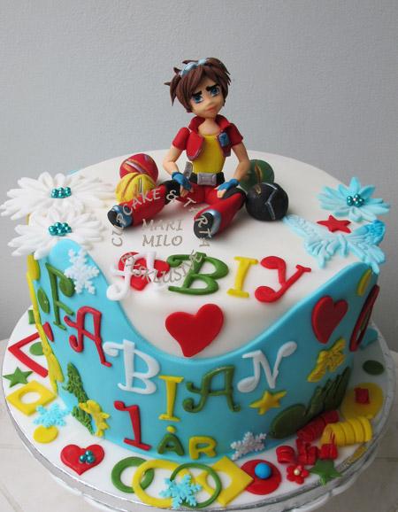 Bakugan tårta