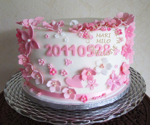 designade tårtor