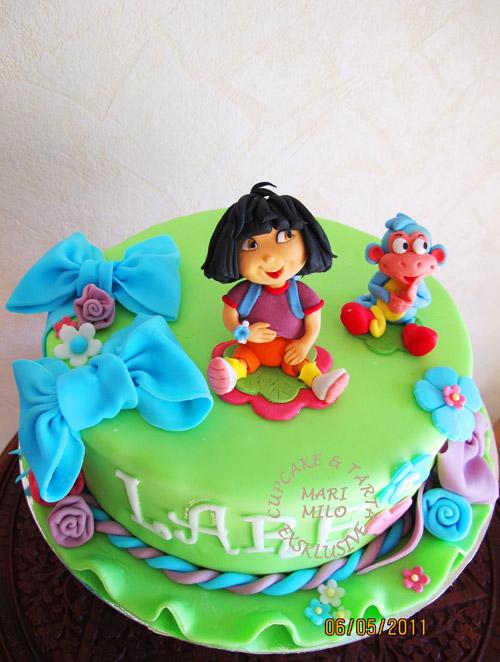 Dora och hennes bäste vän apan Boots