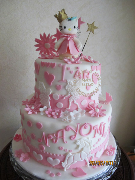 födelsedagstårta Hello Kitty