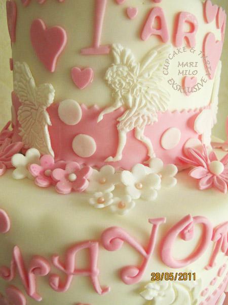 detaljer- änglar-tårta