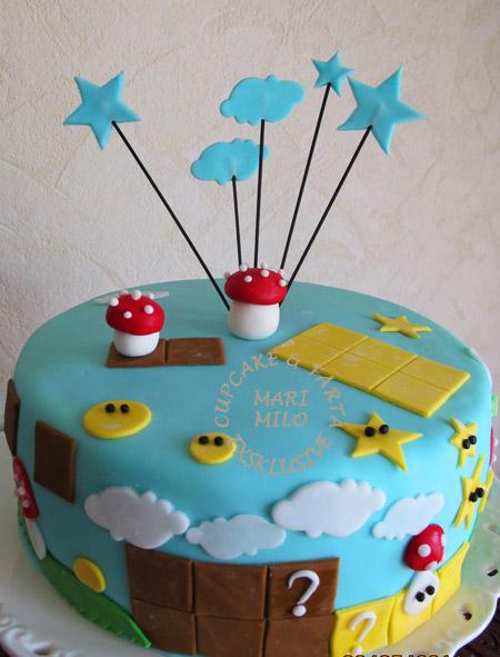 Stjärnor tårta