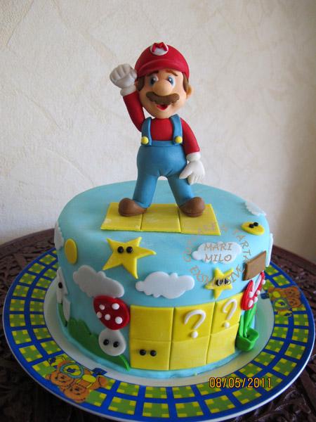 Super Mario Bros Cake