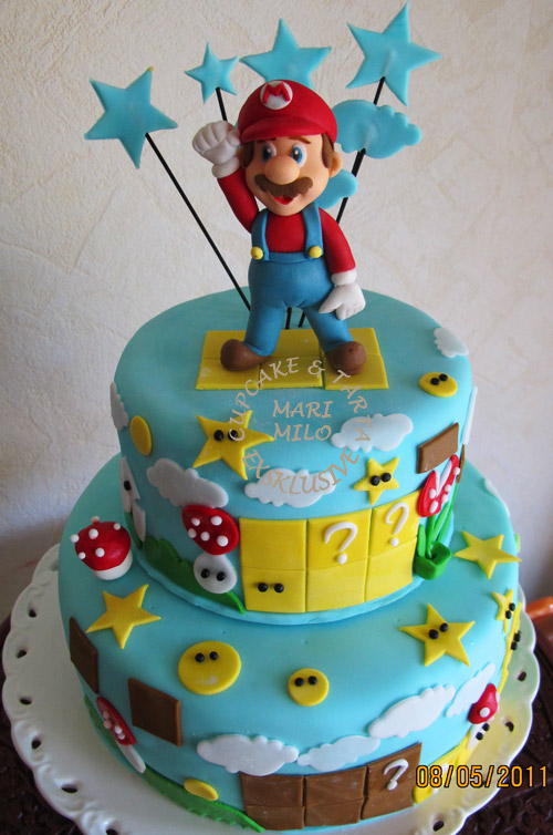 Super Mario Torta Cake