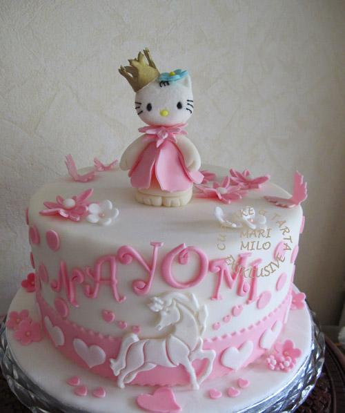 Tema tårtor Hello Kitty