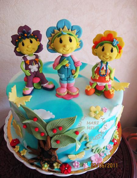 Fifi, Viola och Gullan tårta