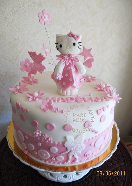 Motivtårtor Hello Kitty