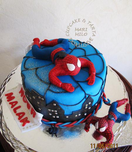 Spindelmannen tårta