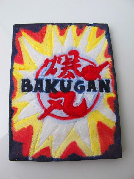 Bakugan kort tårta
