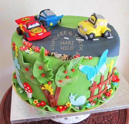 cars tårta