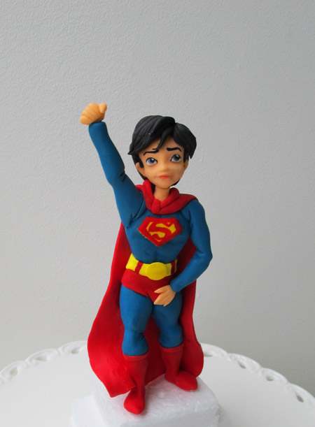 Superman sockerfigur
