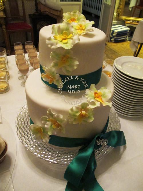 Vegan bröllopstårta