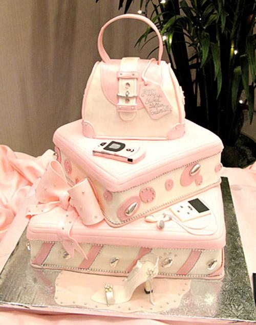 Design Cakes New Jersey, lånad bil, men väskan på toppen är redan klart och bild på den finns i mitt Galleri