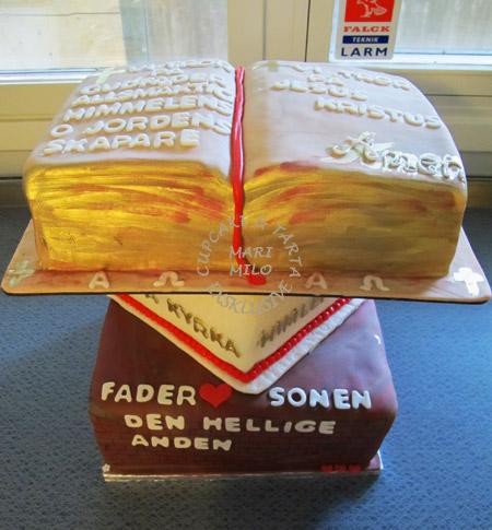 Tårta till Årsta kyrka -invigning