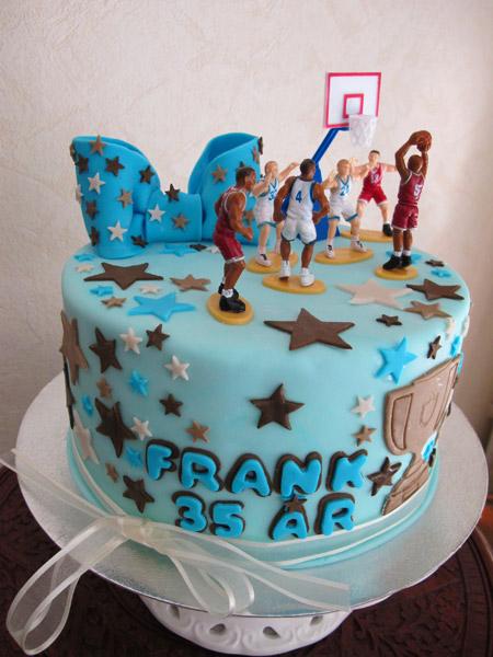 Basket tårta sport