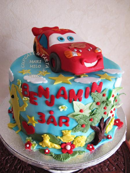 Blixten Mcqueen tårta
