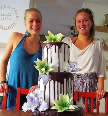 Bröllopstårtor choklad