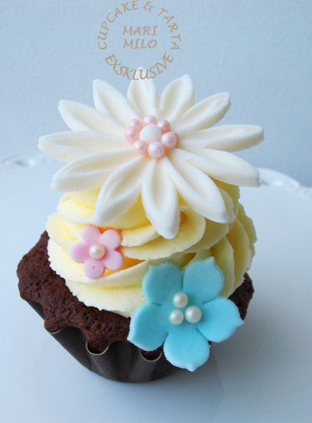 Cupcake för bröllop och fest