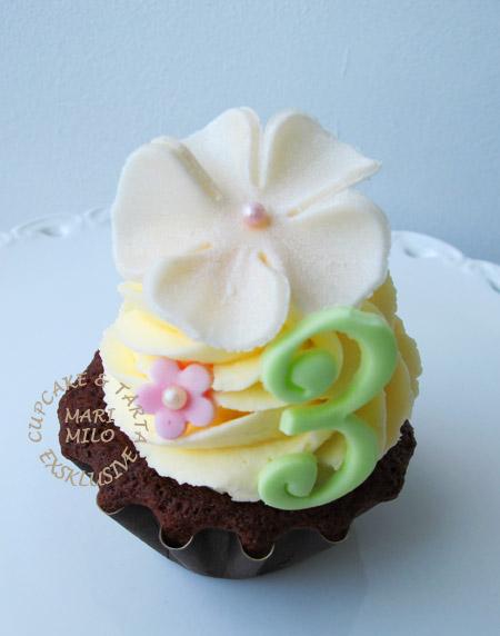 Cupcake 3 år