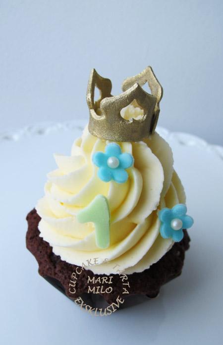 Cupcakes födelsedag 1år