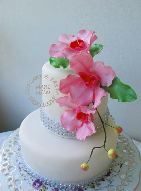 Fina bröllopstårtor