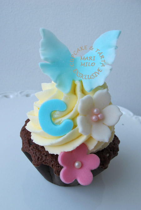 Födelsedags cupcake för Cy