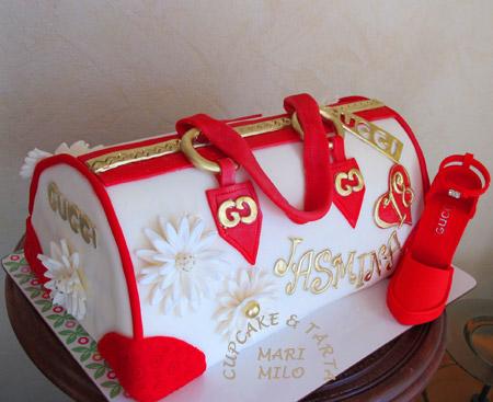 Födelsedagstårta Väska tårta