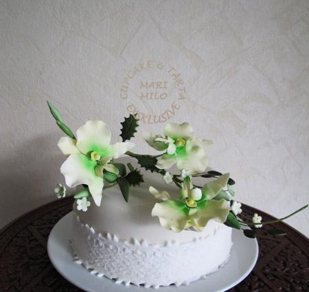 Mini bröllopstårta