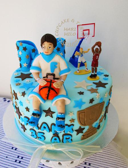 Sport tårtor Basket