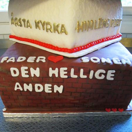 Tårta till Svensk Kyrka