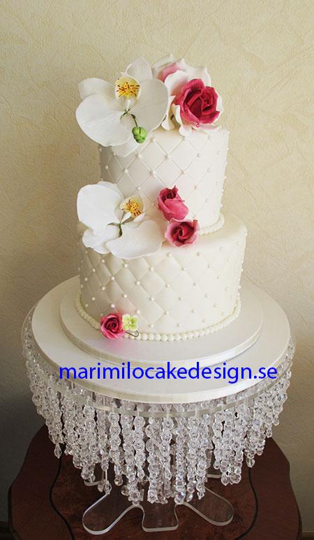Bröllopstårta choklad