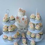 brollopstarta-cupcakes