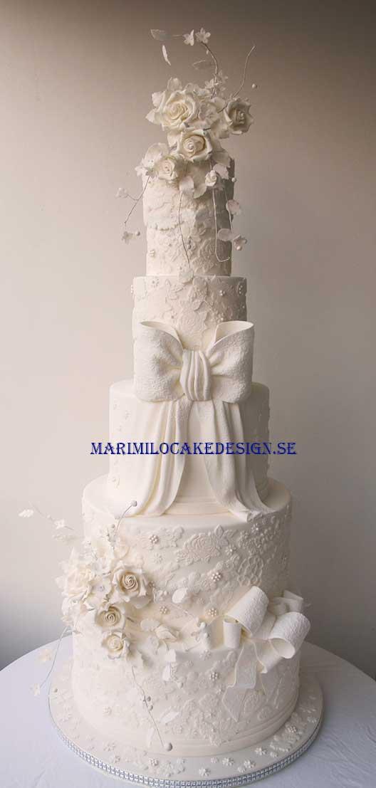 Bröllopstårta Stockholm GRAND HÔTEL