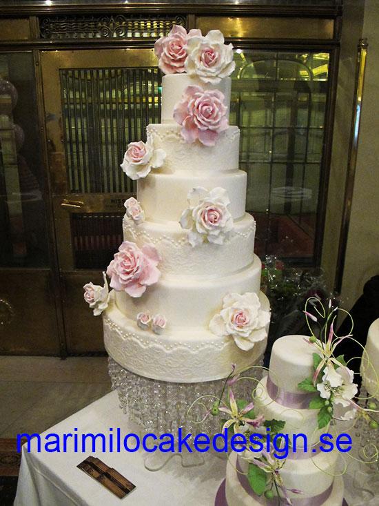 Bröllopstårta Stockholm
