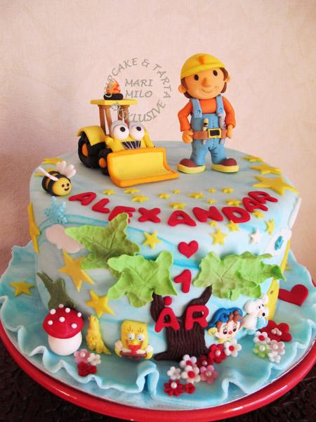 Byggare Bob tårta