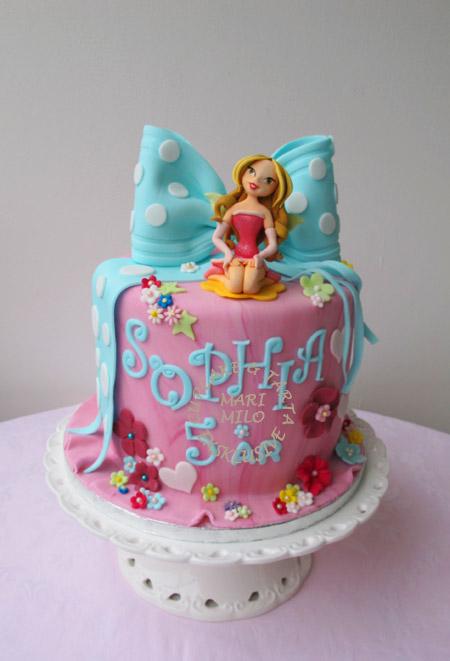 Födelsedagstårta. älva