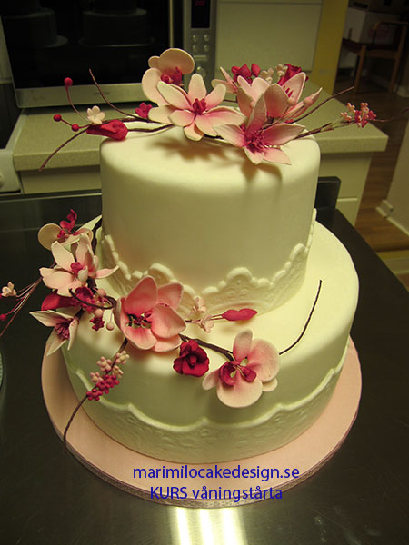 Cake Design Kurs Zurich : kurs-tarta-brollop Mari Milo Cake Design
