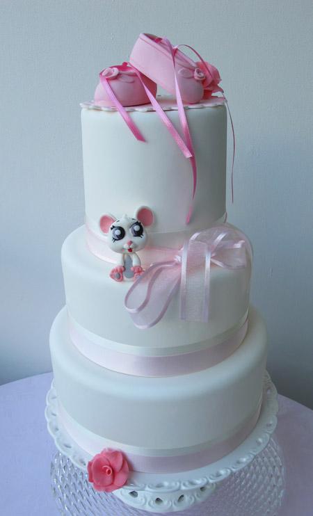 Ballerinaskor tårta